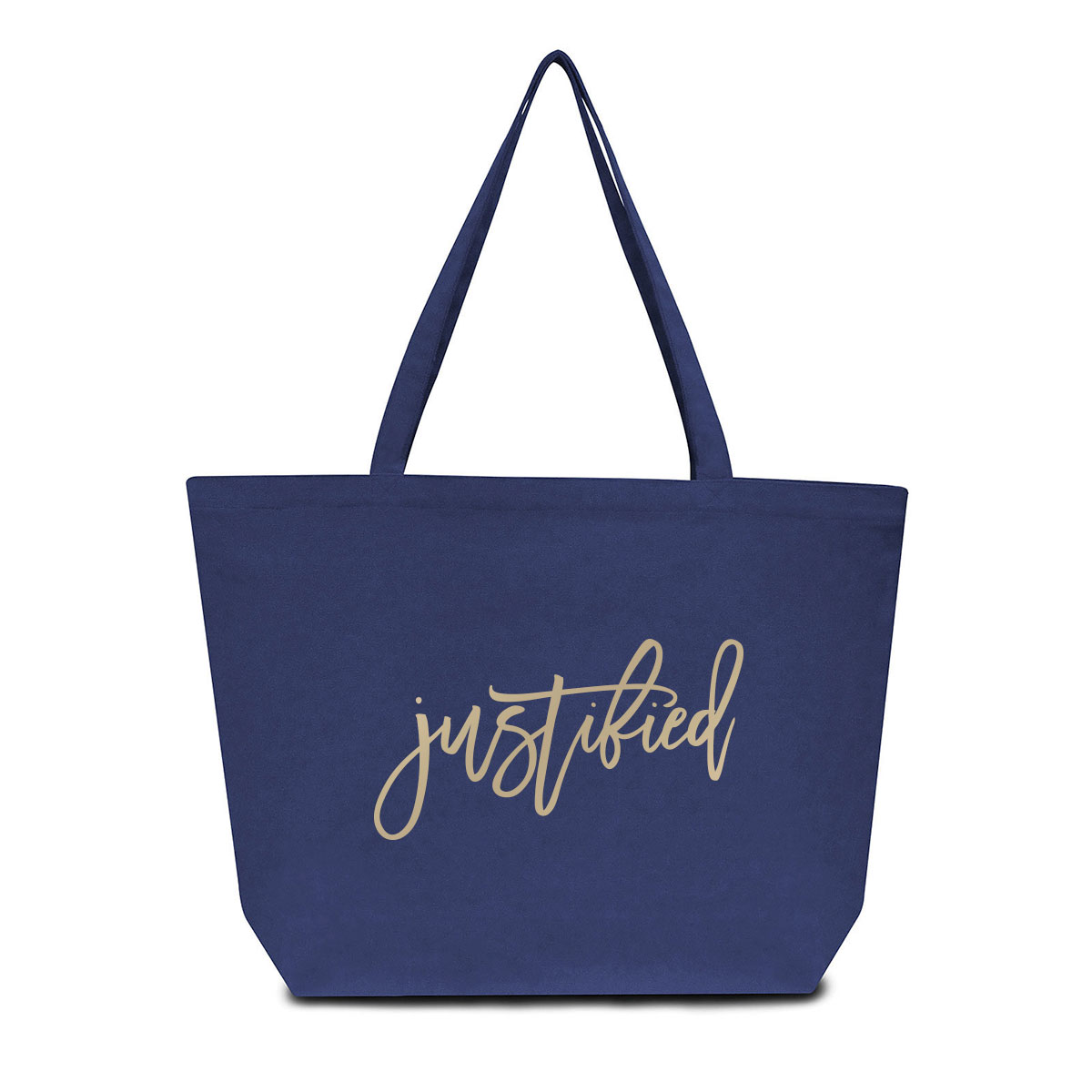 Justified Pigment Tote