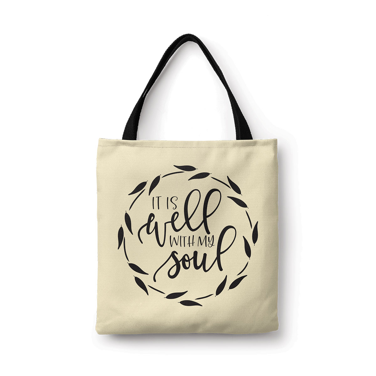 It Is Well With My Soul Canvas Tote