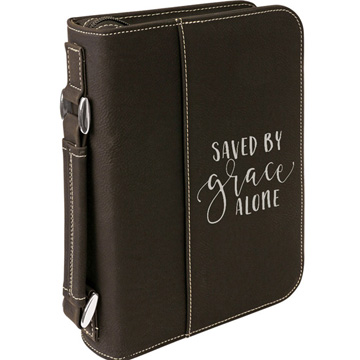 Saved By Grace Alone Bible Cover