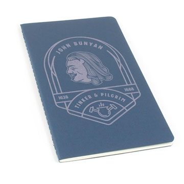 John Bunyan Badge Laser Etched Moleskine Journal
