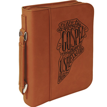 Without the Gospel Bible Cover