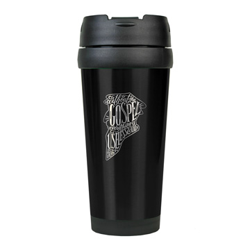 Without the Gospel Stainless Steel Travel Mug