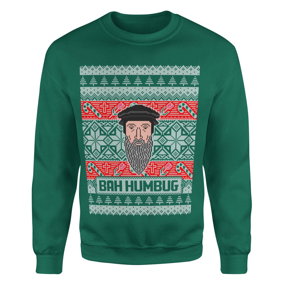 Ugly Christmas Sweater.Pre Order John Calvin Ugly Christmas Sweatshirt