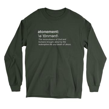 Atonement (Definition) - Long Sleeve Tee