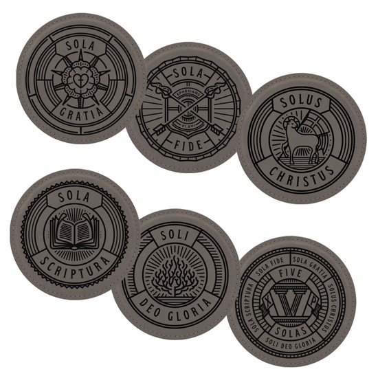 Five Solas Coaster Set of 6