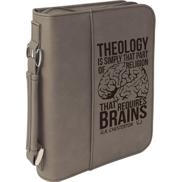 Theology Requires Brains Bible Cover