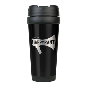 Happy Rant Stainless Steel Travel Mug