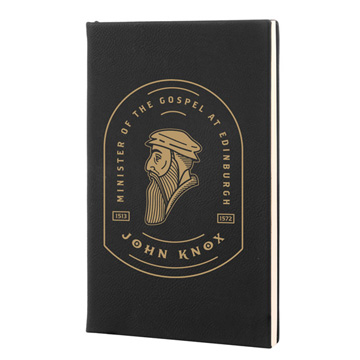 John Knox Badge Leatherette Hardcover Journal