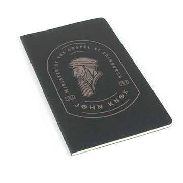 John Knox Badge Laser Etched Moleskine Journal