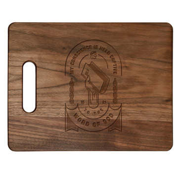 Held Captive to the Word of God Cutting Board