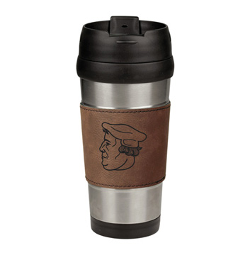 Martin Luther Leatherette Stainless Steel Travel Mug