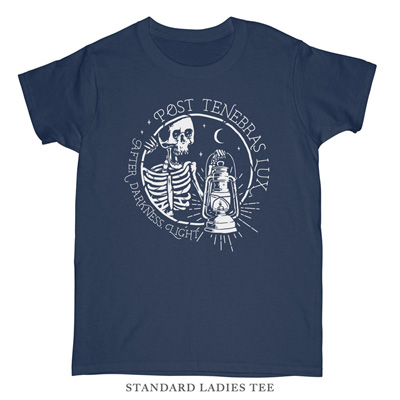 Post Tenebras Lux Ladies Tee