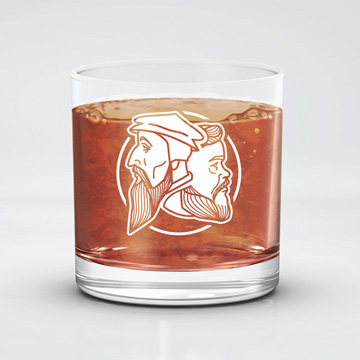 Logo 11 oz Rocks Glass
