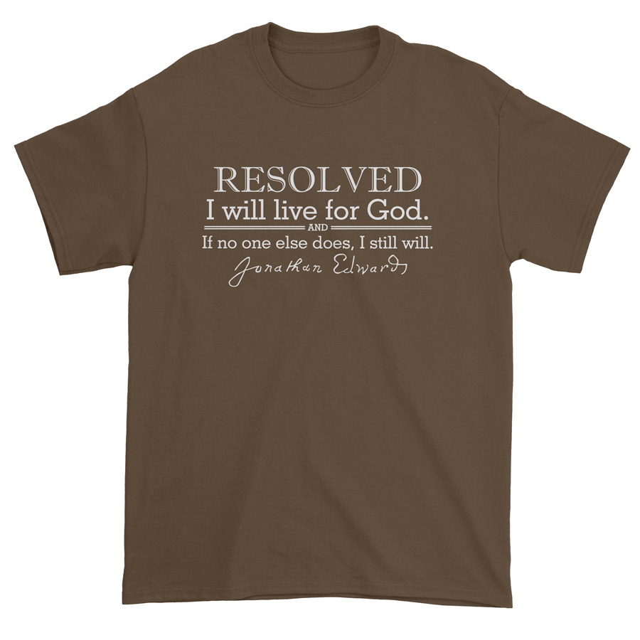 Resolved To Live - Edwards Standard Tee