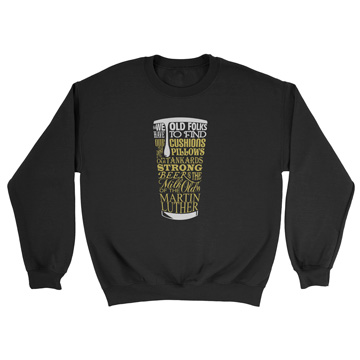 Milk of the Old - Luther - Crewneck Sweatshirt