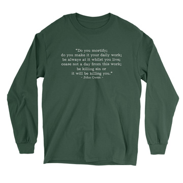Be Killing Sin - Owen (Text Quote) - Long Sleeve Tee