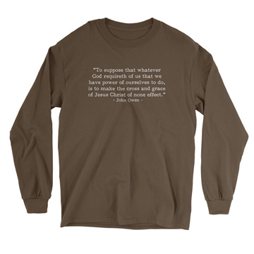 What God Requireth - Owen (Text Quote) - Long Sleeve Tee