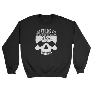 Be Killing Sin (Skull) - Crewneck Sweatshirt