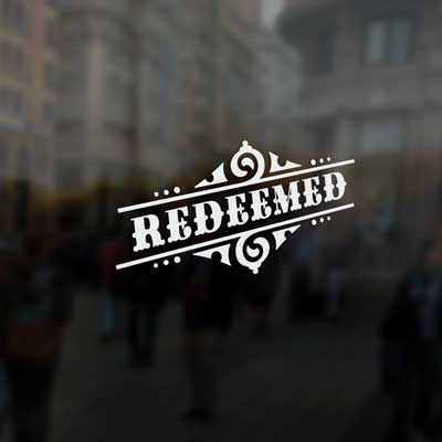Redeemed - Vinyl Decal