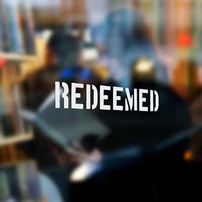 Redeemed - Stencil - Vinyl Decal
