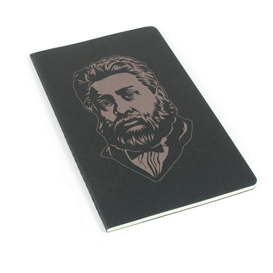 Charles Spurgeon Laser Etched Moleskine Journal