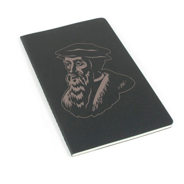 John Calvin Laser Etched Moleskine Journal