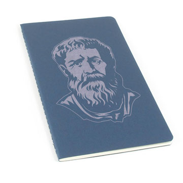 Saint Augustine Laser Etched Moleskine Journal