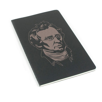 Charles Hodge Laser Etched Moleskine Journal