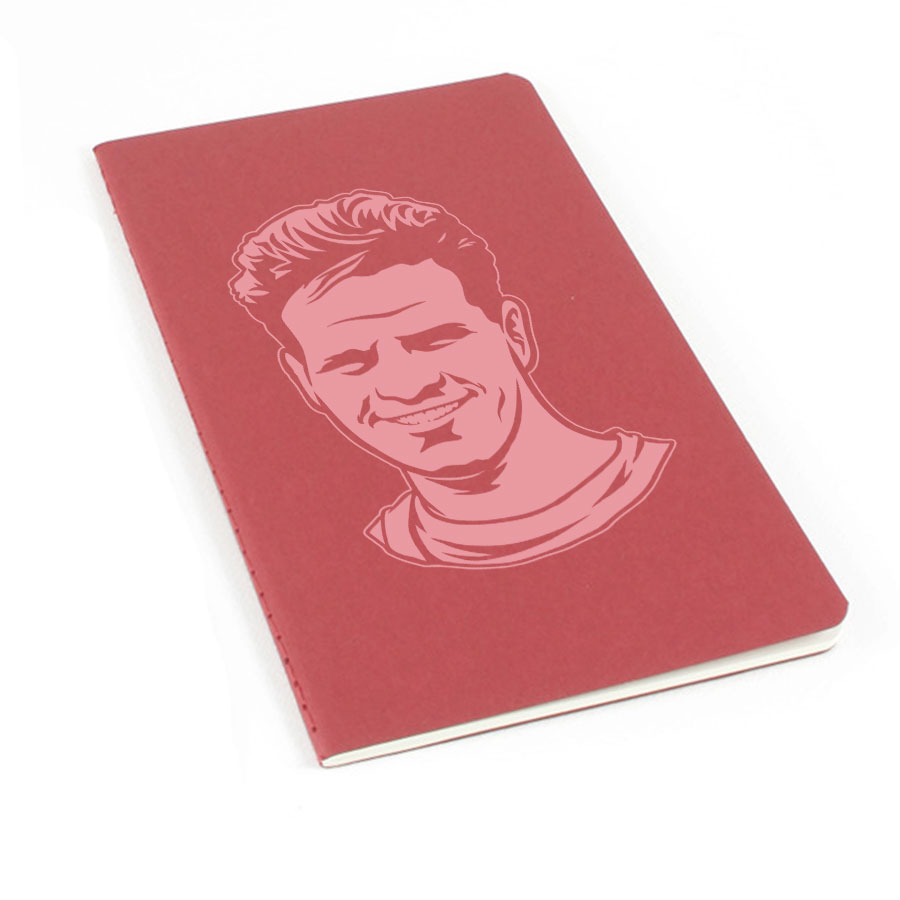 Jim Elliot Laser Etched Moleskine Journal