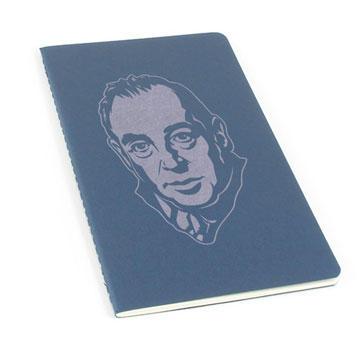 CS Lewis Laser Etched Moleskine Journal