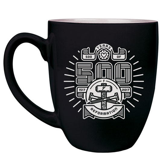 500 Years of Reformation Bistro Mug