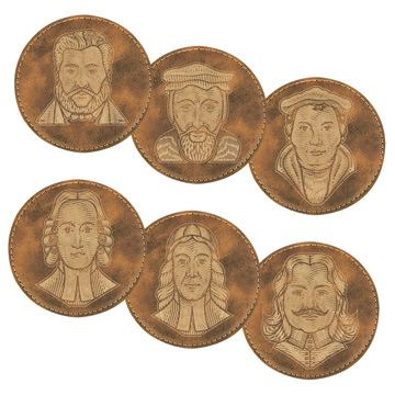 Reformers Coaster Set of 6