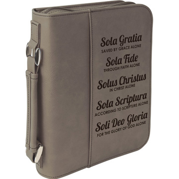 The Five Solas Bible Cover