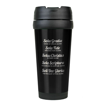 The Five Solas Stainless Steel Travel Mug