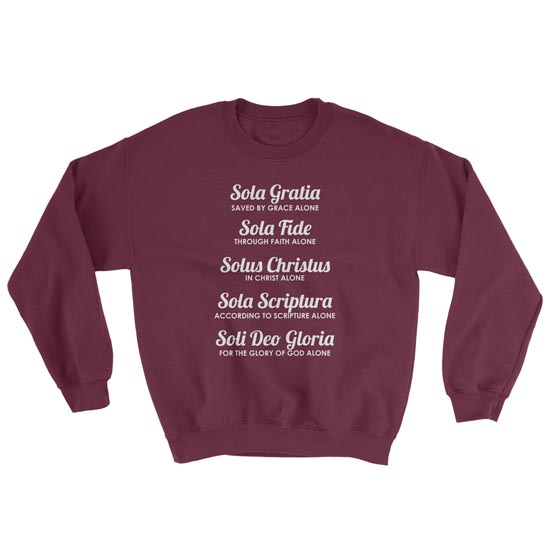 The Five Solas - Crewneck Sweatshirt