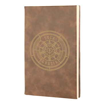 Sola Gratia Leatherette Hardcover Journal