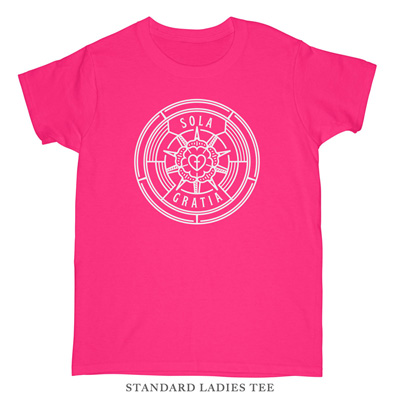 Sola Gratia Badge Ladies Tee