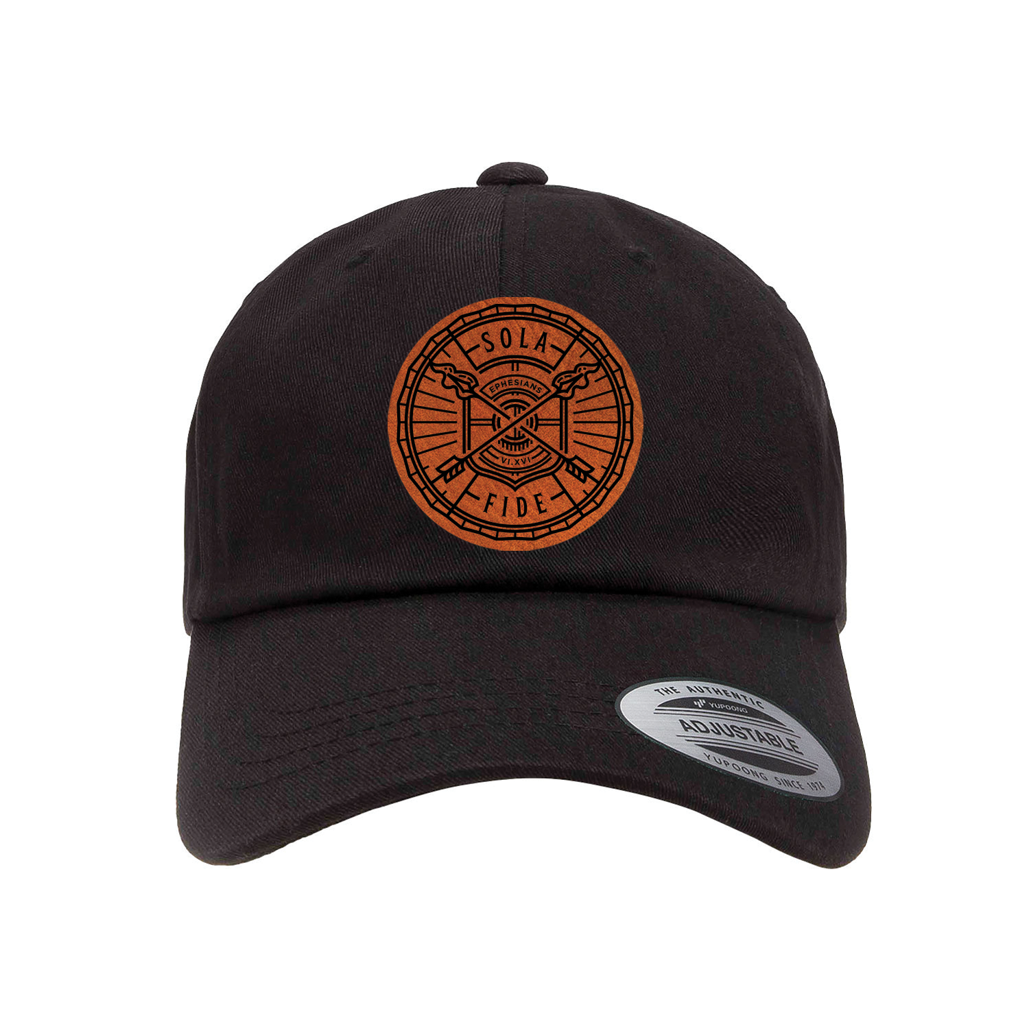 Sola Fide Badge Patch Dad Hat
