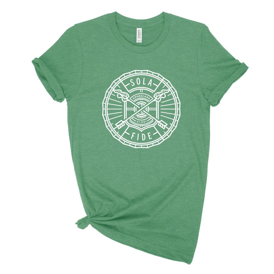 Sola Fide Badge Ladies Tee