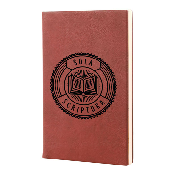 Sola Scriptura Leatherette Hardcover Journal