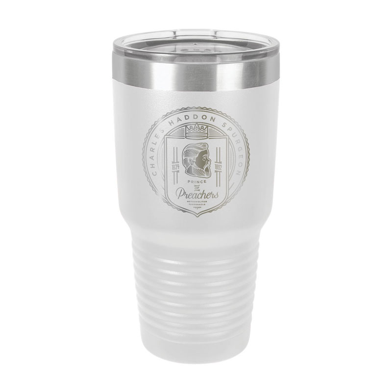 Charles Spurgeon Badge Insulated Tumbler