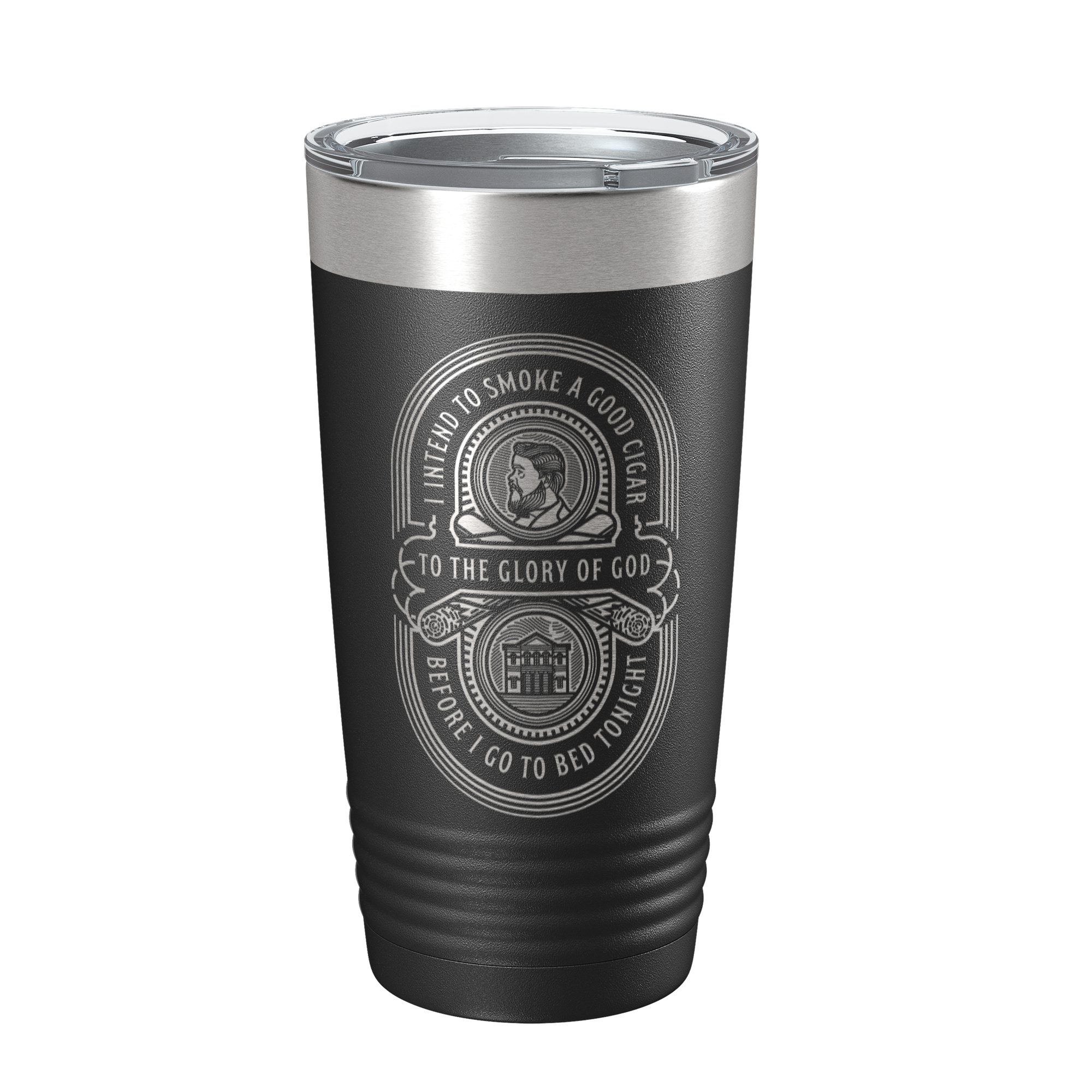 Charles Spurgeon Cigar Quote 20oz Insulated Tumbler