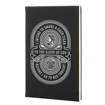 Charles Spurgeon Cigar Leatherette Hardcover Journal
