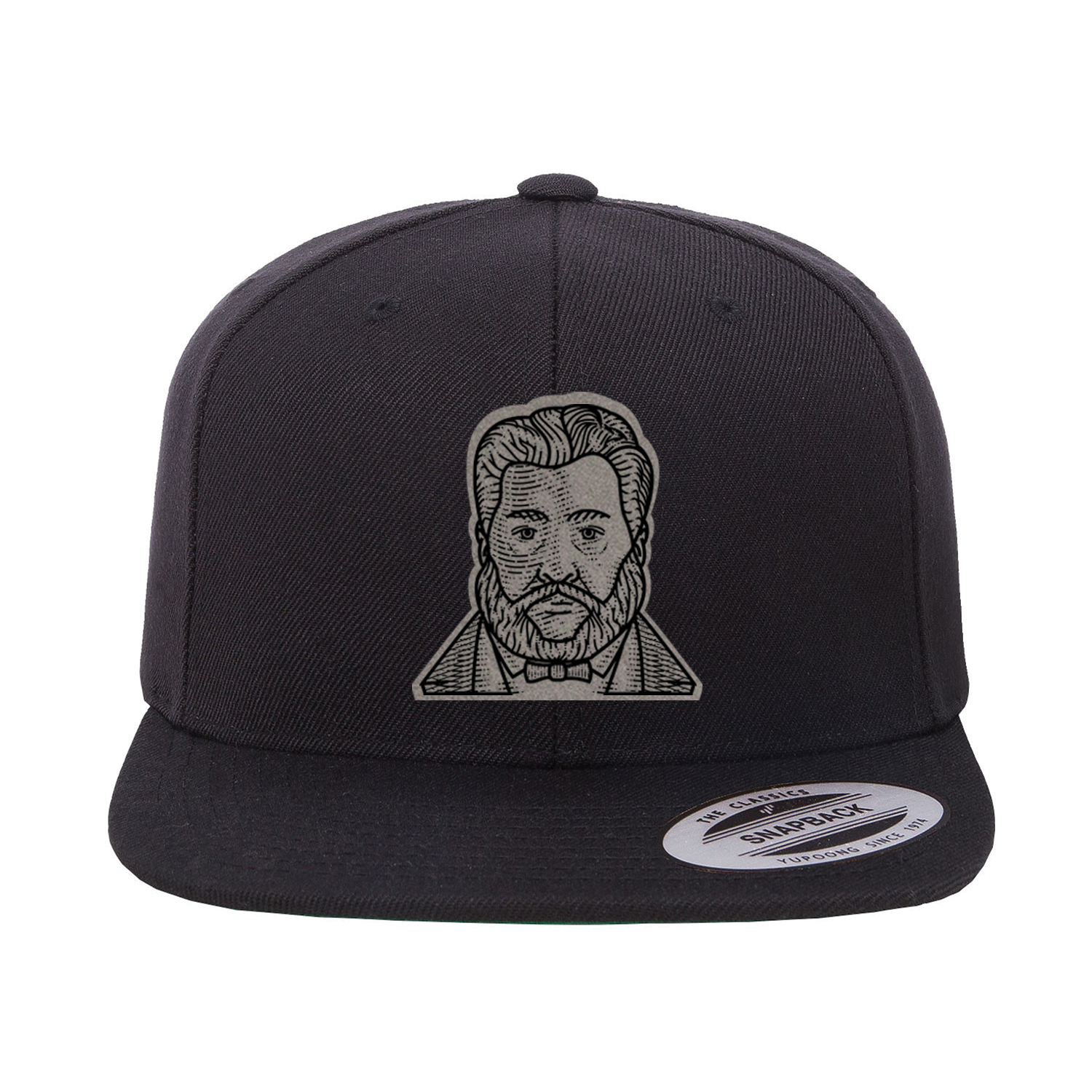 Charles Spurgeon Etched Snapback Hat