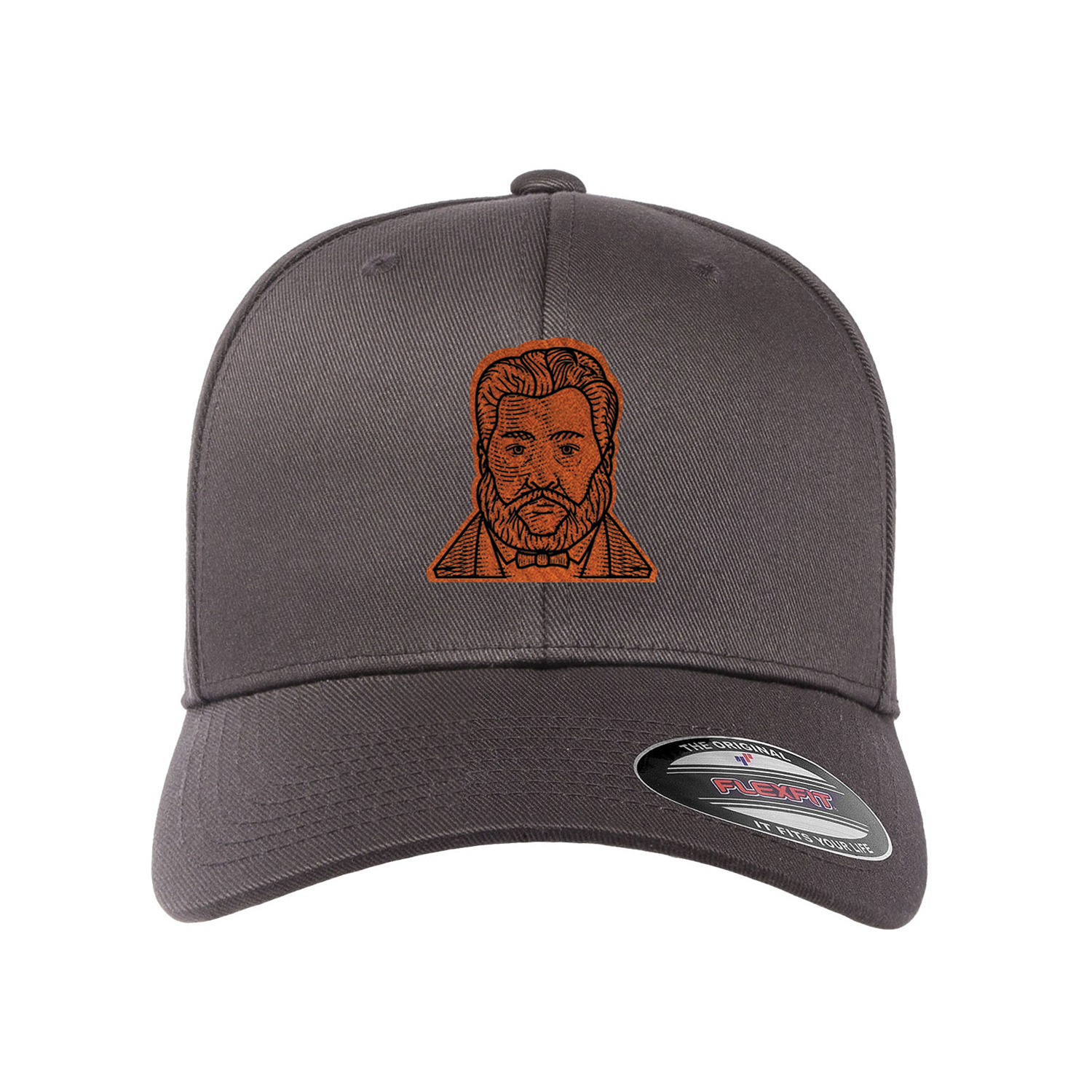Charles Spurgeon Etched Patch Fitted Hat