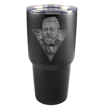 Charles Spurgeon Illustrated 30 oz Insulated Tumbler