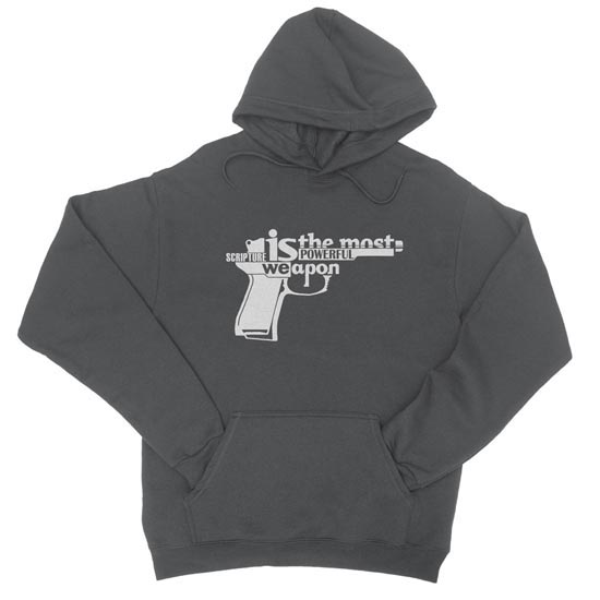 Scripture Is the Most Powerful Weapon - Hoodie