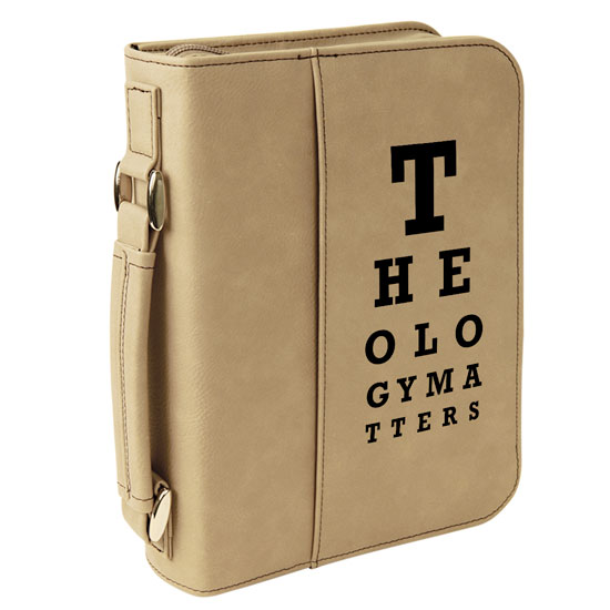 Theology Matters (Eye Chart) Bible Cover