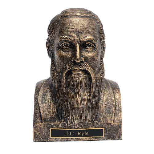 JC Ryle Statue Bust
