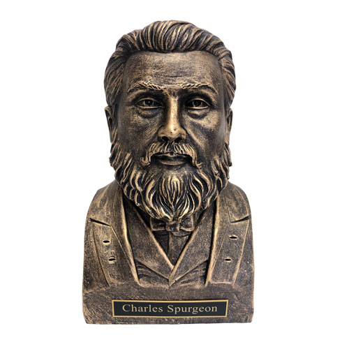 Charles Spurgeon Statue Bust